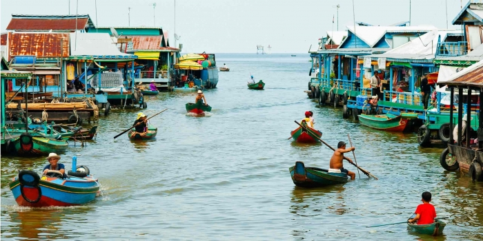 Tonle Sap lake 1 Day