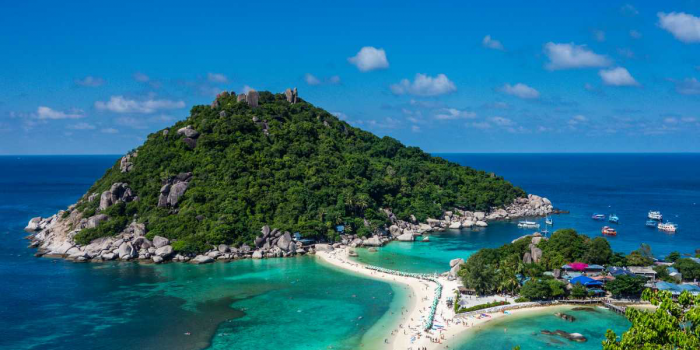 White Sands of Turtle Island Koh Tao 4 Days
