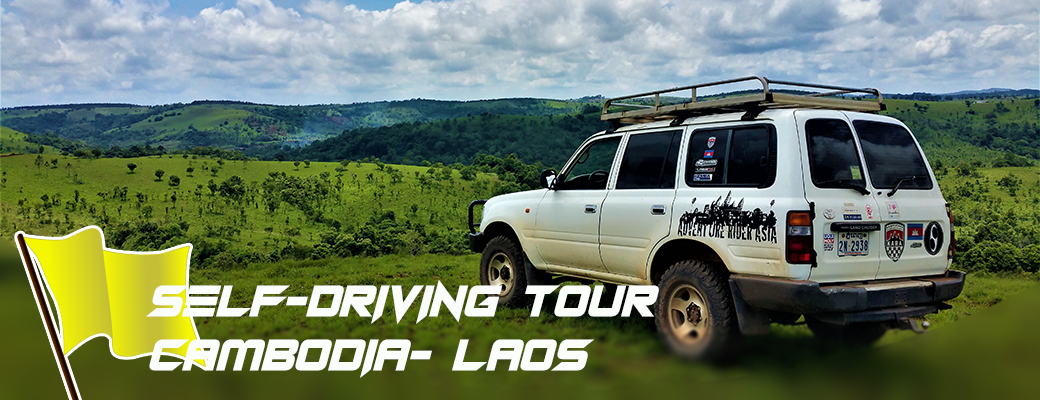 Self-driving tour linking Cambodia – Laos