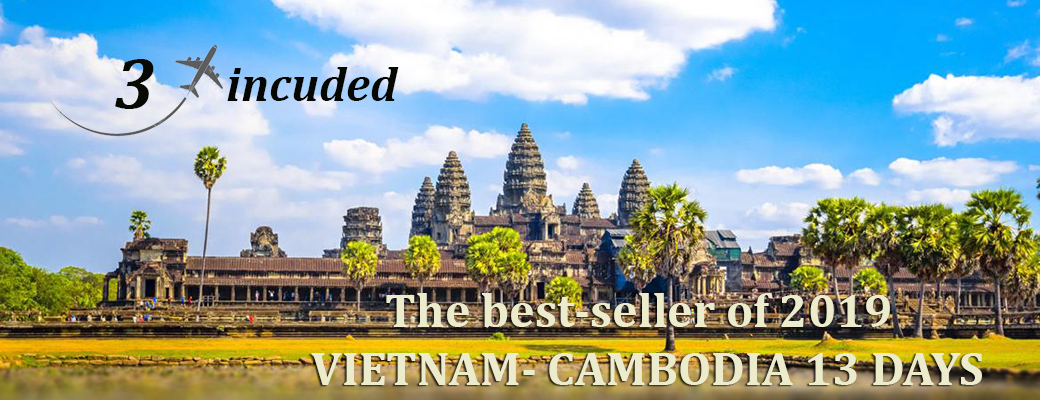 The best-seller of 2019: Vietnam – Cambodia 13 Days